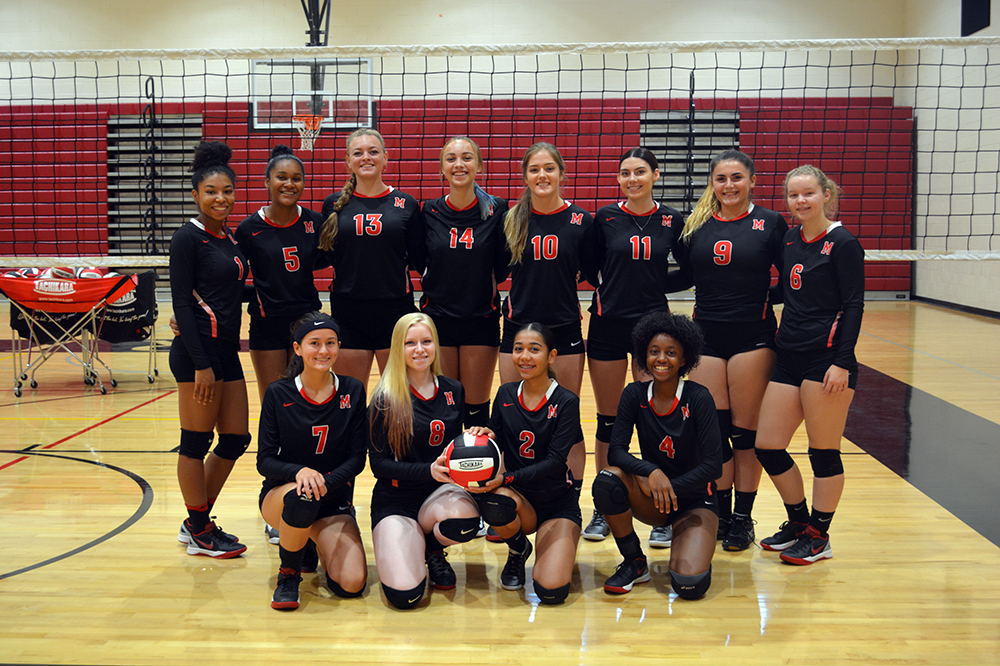 Mhs Volleyball Team Charged Up With High Expectations