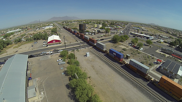 Maricopa scored a big win in the effort for an overpass at the Union Pacific crossing on State Route 347 by landing a federal TIGER grant of $15 million. Photo by Michael Barnes