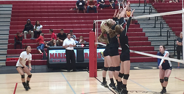 Mhs Volleyball S Playoff Hopes Take Hit With Losses Video