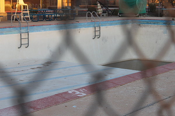 Rotary Park was created to build a community pool, which was completed in 1958. The pool closed when Copper Sky Regional Park opened. Photo by Devin Carson