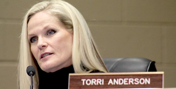 MUSD board member Torri Anderson. Photo by Devin Carson