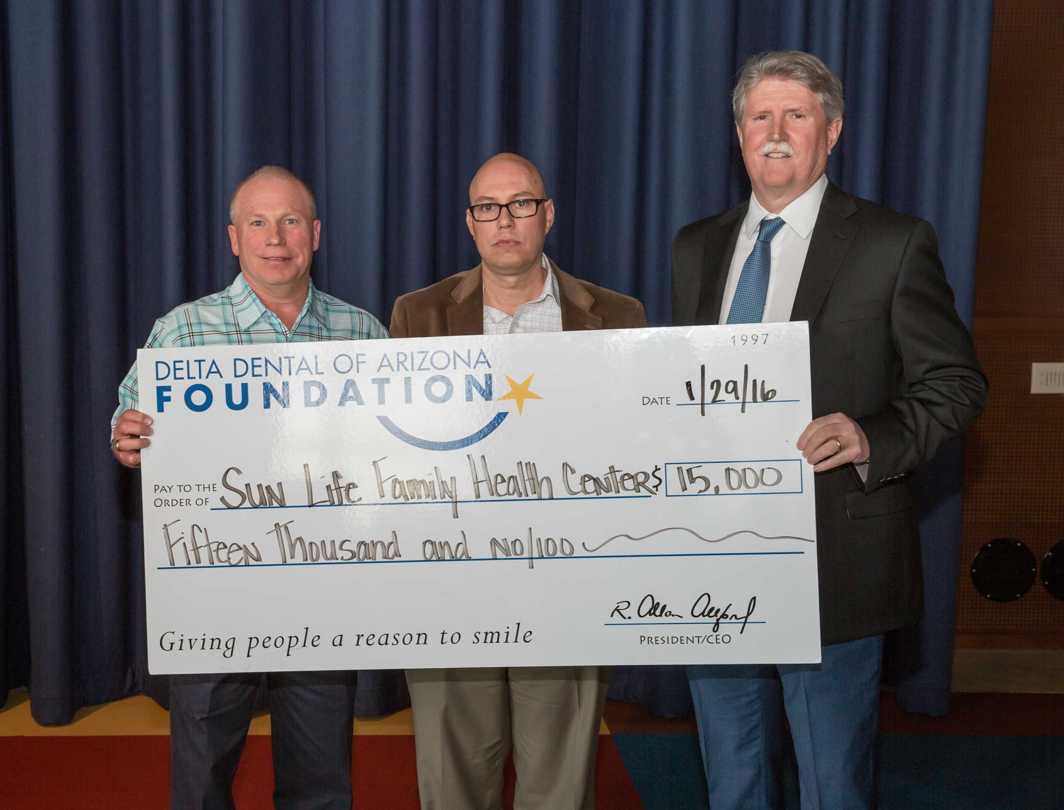 Sun Life awarded $15,000 grant from Delta Dental   InMaricopa