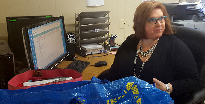 Executive Director Wendy Webb has been trying to find options if the food bank has to move.