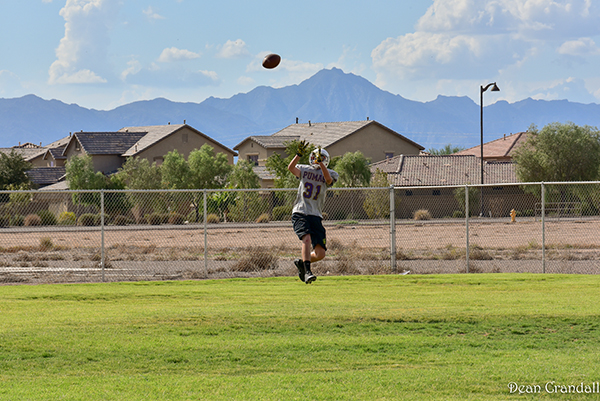 The Pumas practice at school but host home games at Pacana Park. Photo by Dean Crandall