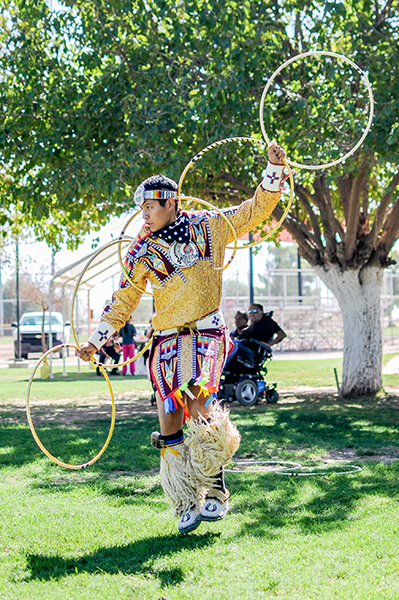 The Hoop Dance. Photo by R. Mason Callejas
