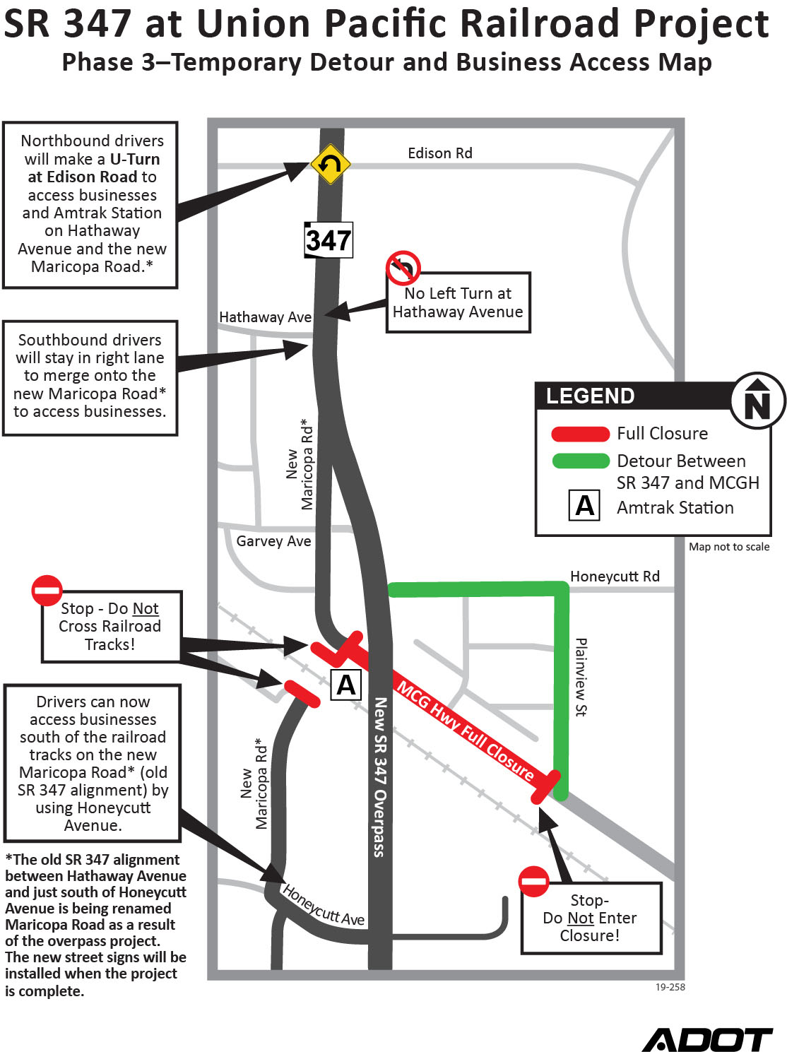ADOT maps current traffic detour | InMaricopa Adot State Map on indot state map, tdot state map, caltrans state map,