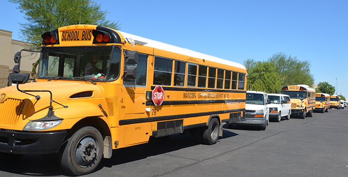 Bus Maricopa High School