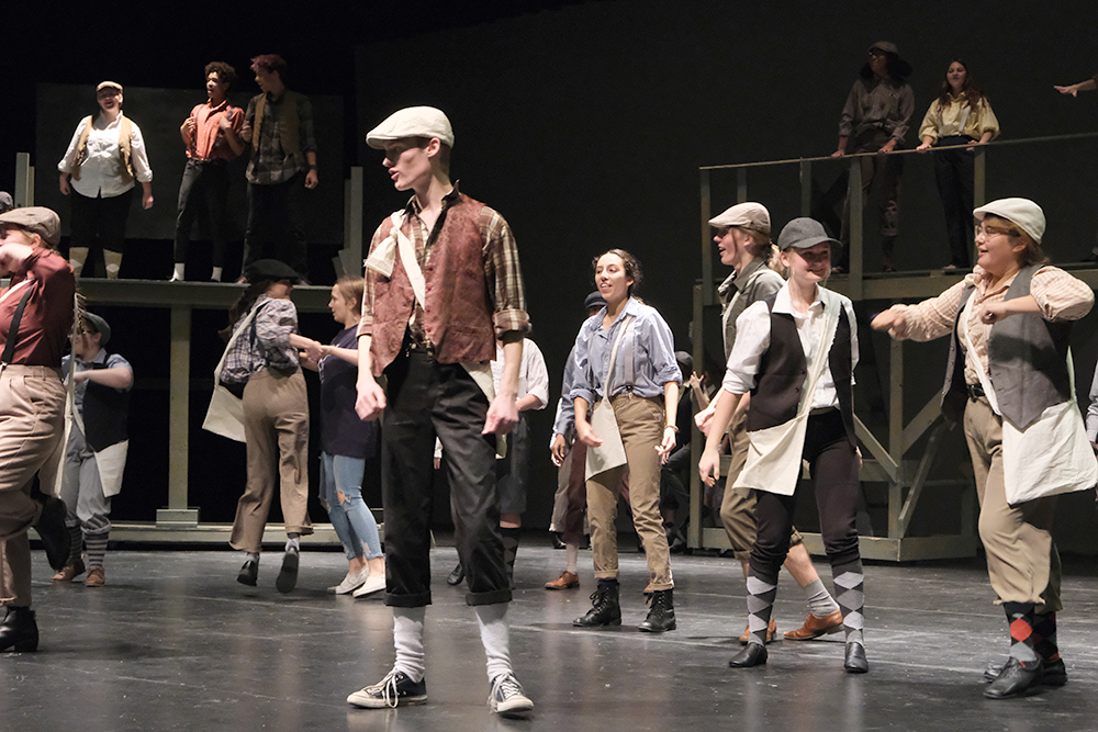 MHS Theatre Co. 'Newsies' Preview