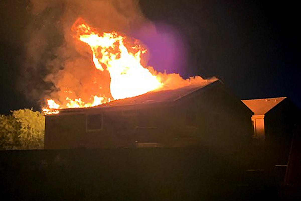 House fire Senita