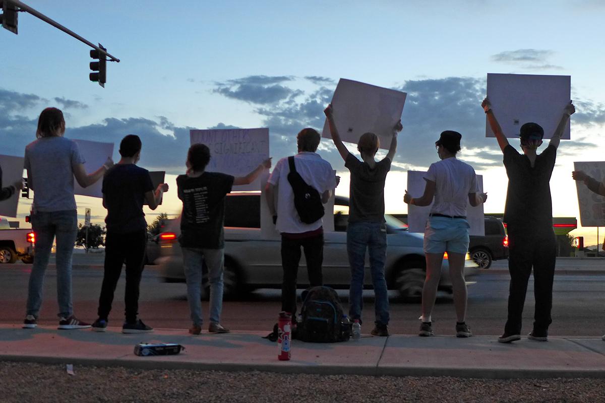 Maricopa BLM Protest