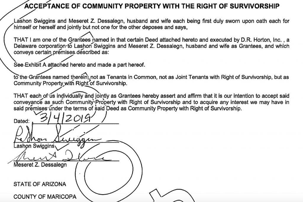 Lashon Swiggins document