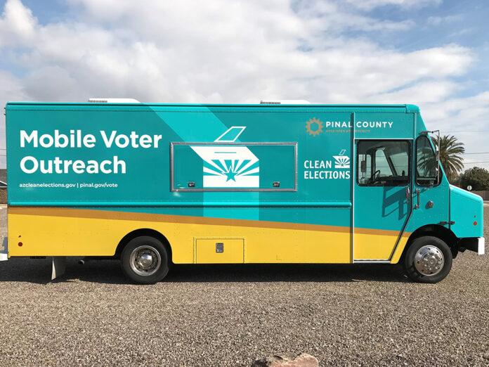 Pinal County Voter Van
