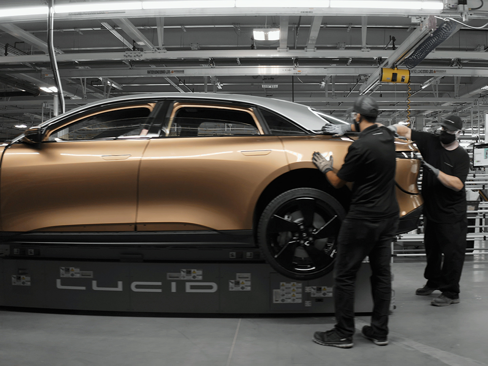 Lucid Motors completes electric-vehicle plant in Pinal ...