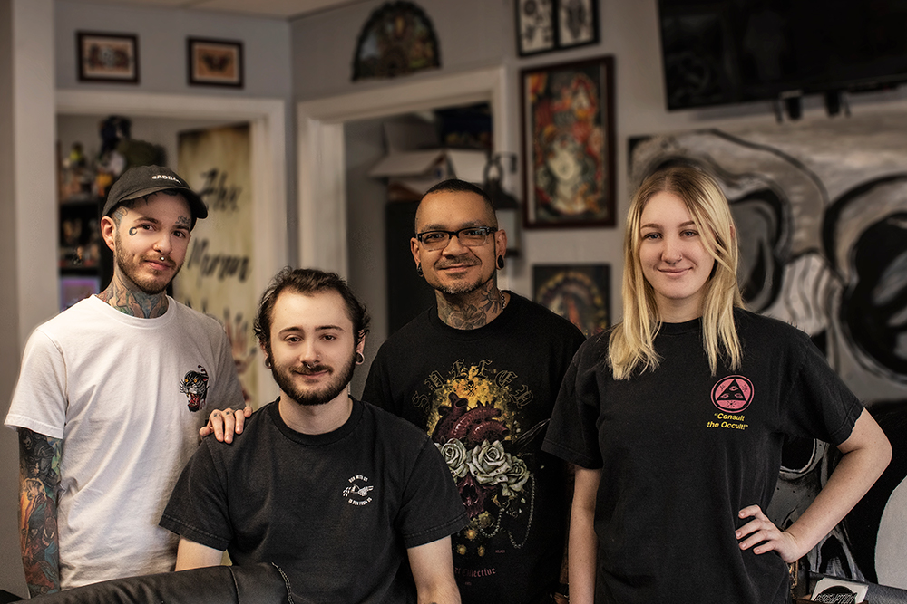 Redemption Tattoo Sanchez Staff