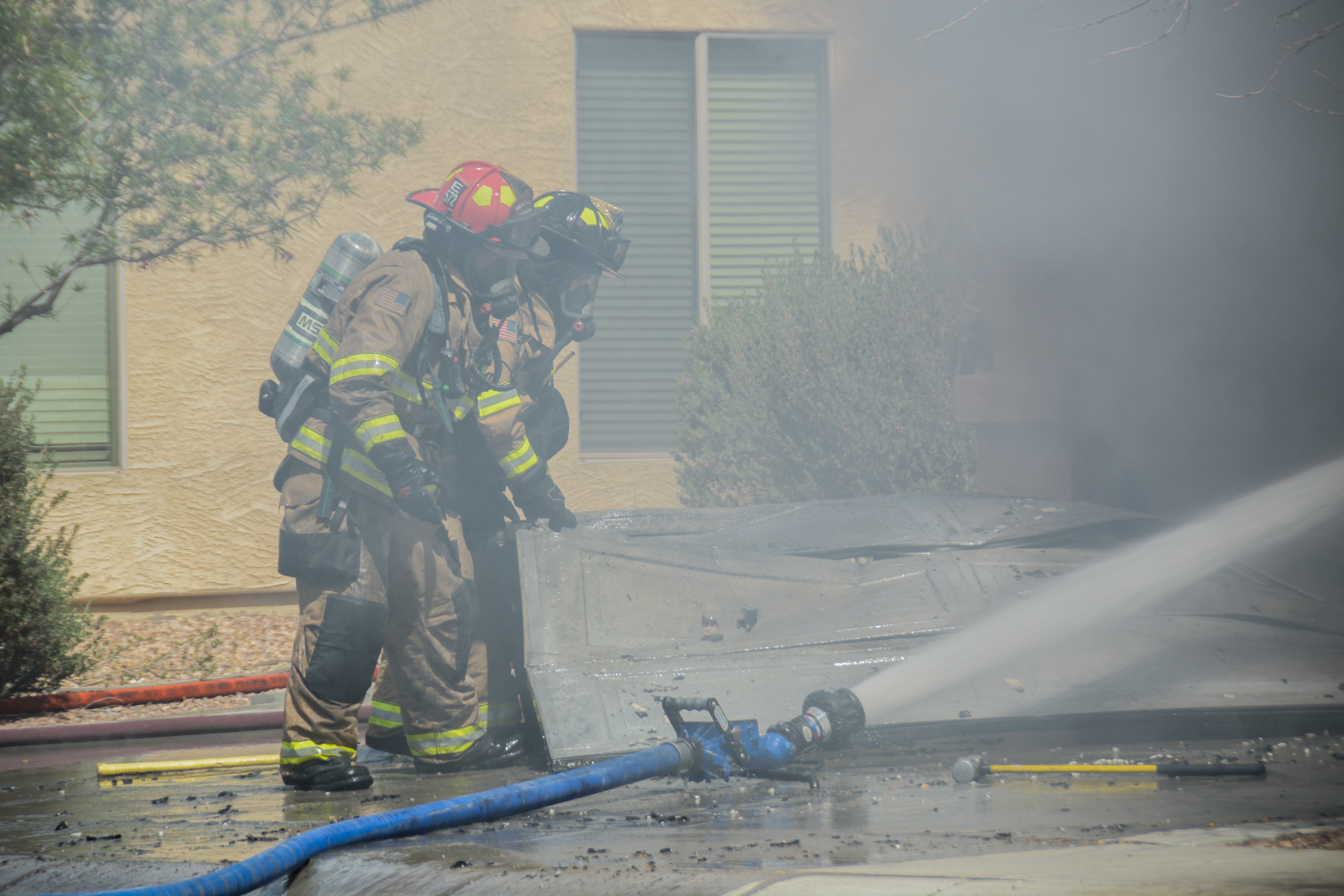 mfmd 2 safe after garage fire inmaricopa. Black Bedroom Furniture Sets. Home Design Ideas