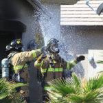 Garage Fire Explosion